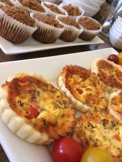 Breakfast quiches