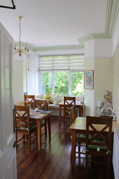 The Breakfast room at Boscastle House
