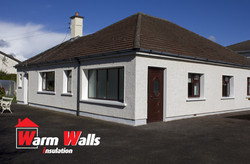 External wall Insulation, Swords