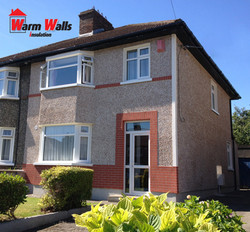 External wall insulation Cabra