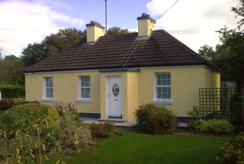 External wall insulation in Navan