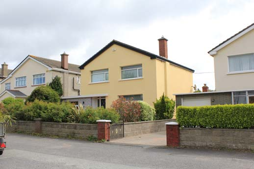 External insulation in Portmarnock.