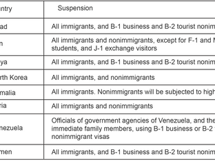 Travel Ban 3.0: Trump Announces Indefinite and Expanded Travel Suspension for Eight Designated Count