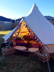 Backyard Glamping