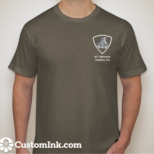 Army Green T-Shirt - Remember. Honor. Ride.