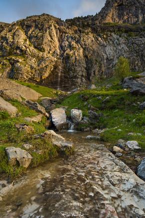Agua de montaña