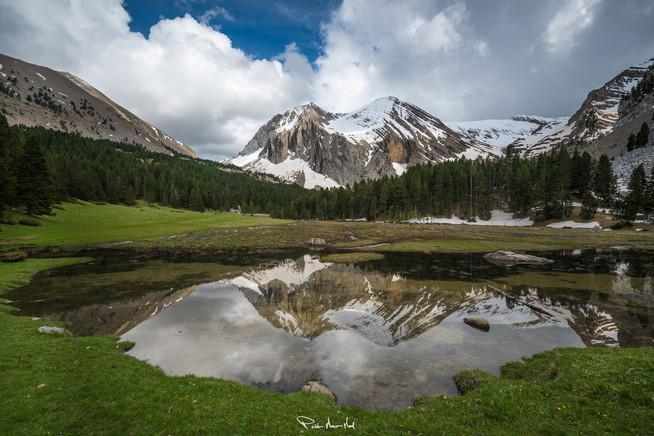 Montaña solitaria