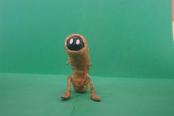 Finished puppet