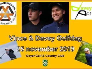 Vince & Davey Golfdag 25 november 2019