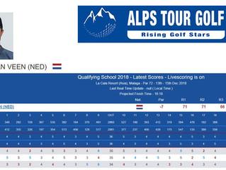 4e plaats Alps Tour Q School
