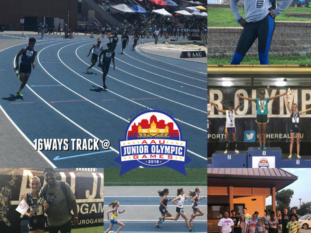 16WAYS Track @ 2018 AAU Junior Olympic Games