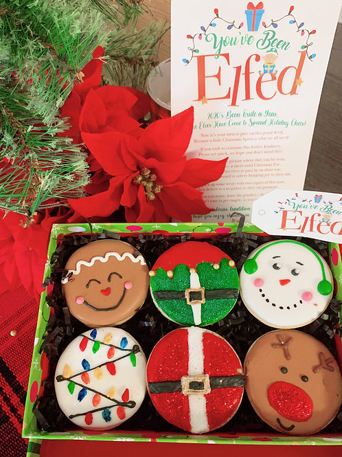 You've Been Elfed Cookie Set (Minis)