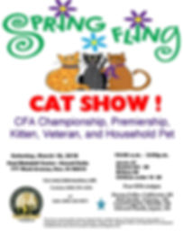 Cat Fanciers Association Cat Show March