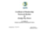 NAPPS Certificate of Membership - Richard Barber