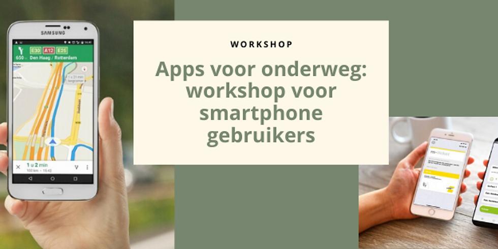Apps voor onderweg: workshop voor smartphone gebruikers