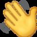 Waving Hand Emoji [Free Download IOS Emo
