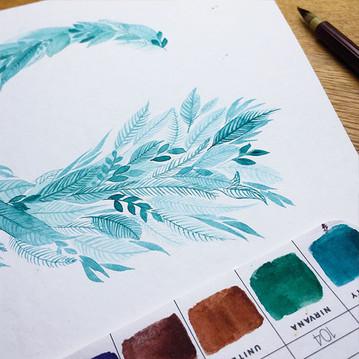 Wreath study