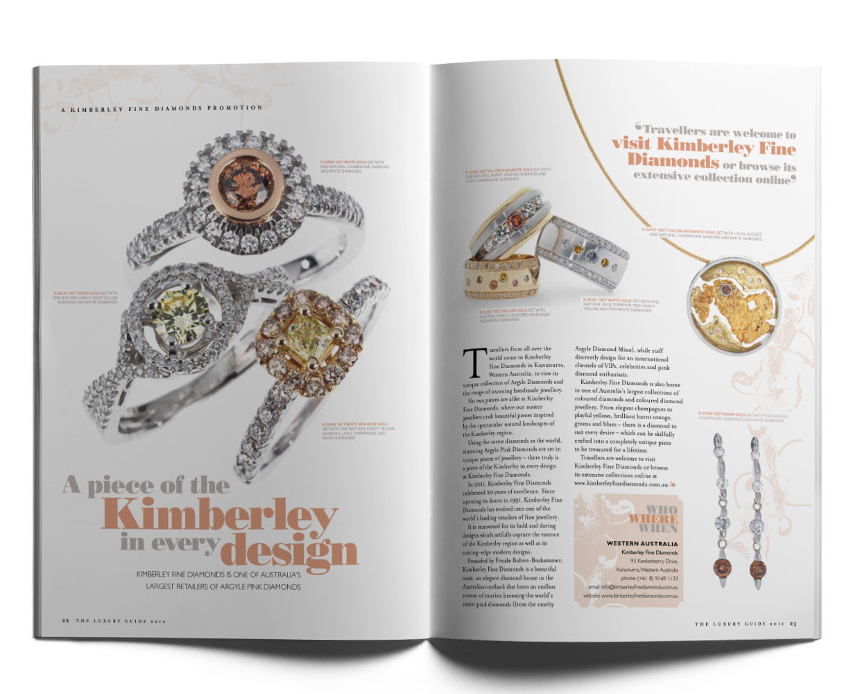 Kimberley Fine Diamonds.