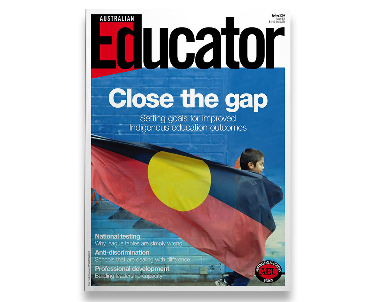 Australian Educator magazine for the AEU