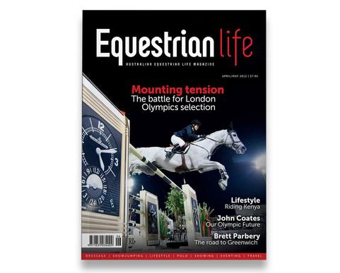 Equestrian Life magazine cover.