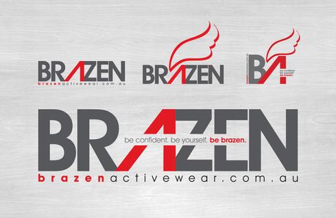 Brazen logotypes