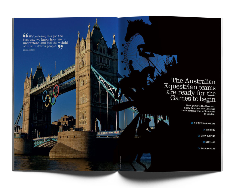 Equestrian Life magazine.