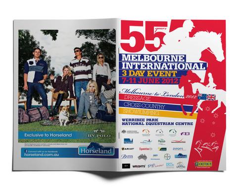 Melbourne International Three Day Event program.
