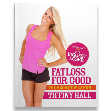 Tiffiny Hall - Fatloss for Good cover design.