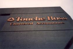 Touche Ross Building Signage