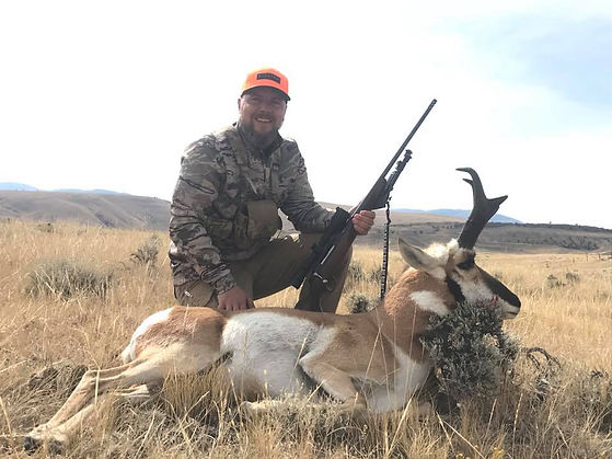 Wyoming Guided Antelope Hunting with O'Brien Creek Outfitters