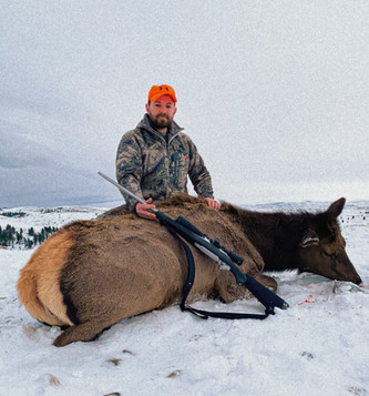 Wyoming Guided Cow Elk Hunts with O'Brien Creek Outfitters