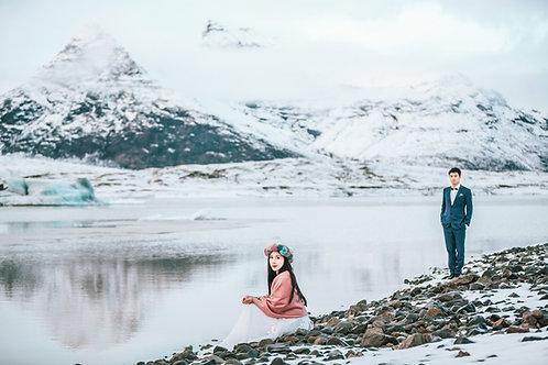 3 Days 2 Nights Glacier Lagoon Honeymoon - Deposit   三天两夜冰河湖蜜月跟拍-定金