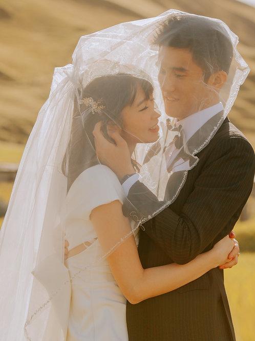 Icelandic wedding冰岛婚礼|预定金