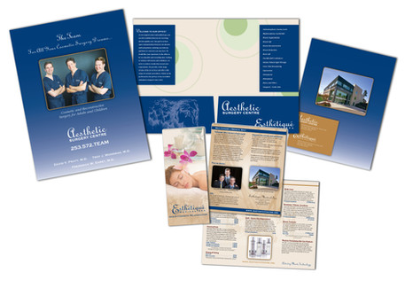 Aesthetic Surgery Centre Brochure and Folder