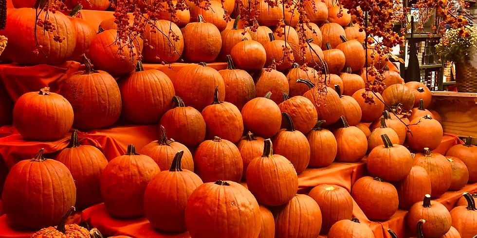12:30 pm, Oct 23rd - Pumpkin Patch