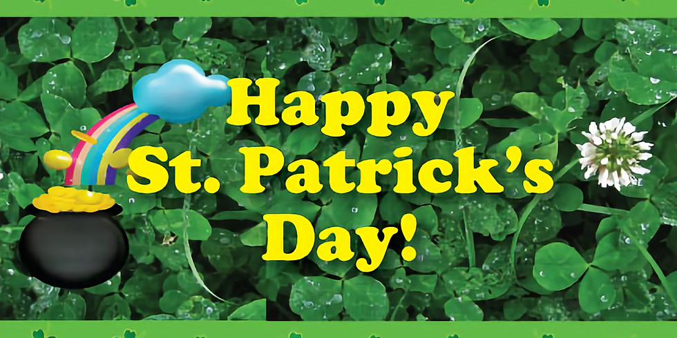 PM Session: St. Patrick's Day Rainbow Search and Take Home Clover Pot