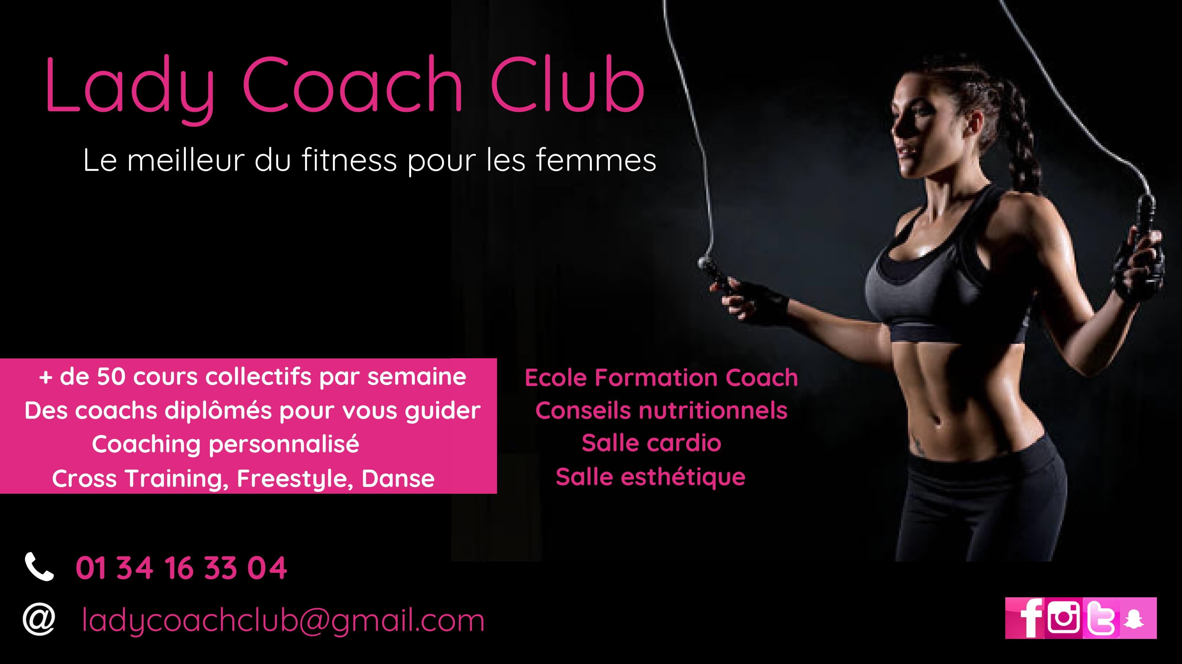 Salle De Sport 100 Feminin Lady Coach Club Eaubonne