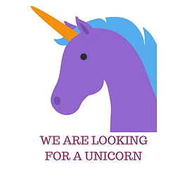 WE ARE LOOKING FOR A UNICORN.png