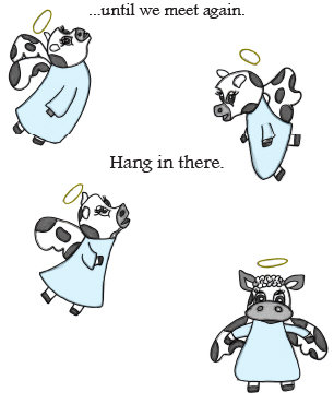 Cow Line - Condolences