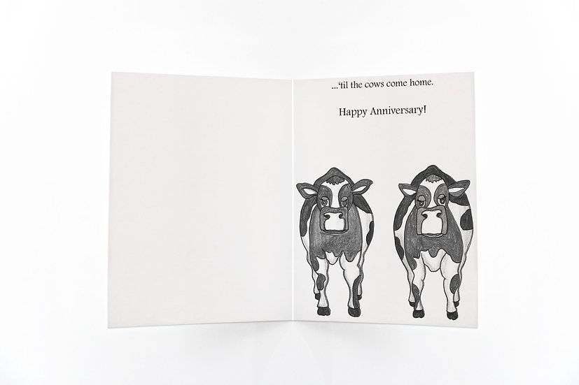 Wholesale Anniversary -'Til the Cows Come Home
