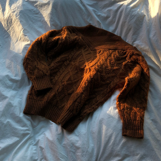 Pure Wool Cable Knit