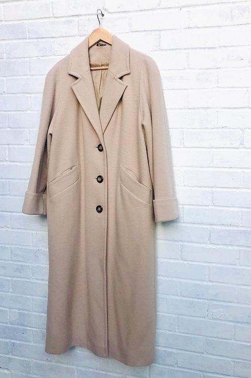 Longline Wool blend Coat