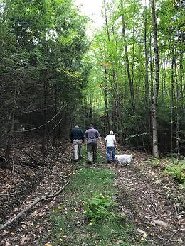 Rousseau walking with landowners_Urbano.