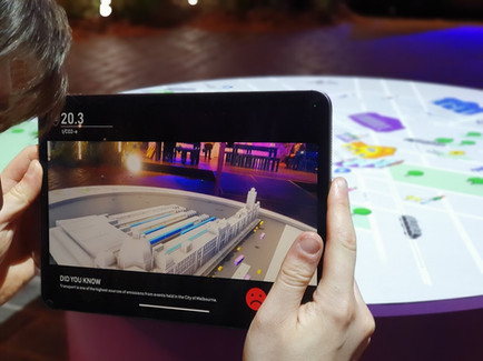 Fika premieres 'Transport Emissions: An Augmented Reality' at Melbourne Knowledge Week