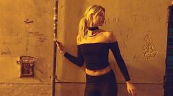 #aicha #shooting #musicvideo #marcapasos #kontor #blackdress #nightshooting #palma #meer #posing #fa