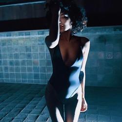 #shooting #model #fashion #modeling #modelmood #body #underwear #sarajoleen #night #köln #Cgn #colog