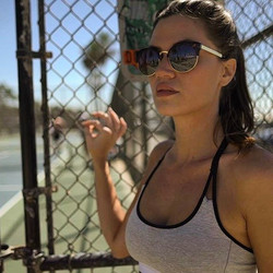 #shooting #la #losangeles #sport #fashion #model #video #clip #venice #musclebeach #tennis #bluesky