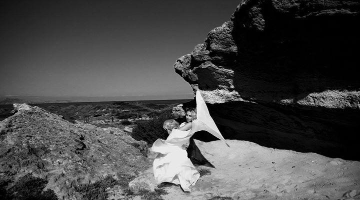 Test Pic Beach , Model Katrin Berojan
