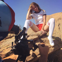#shooting #desert #model #vintage #overk