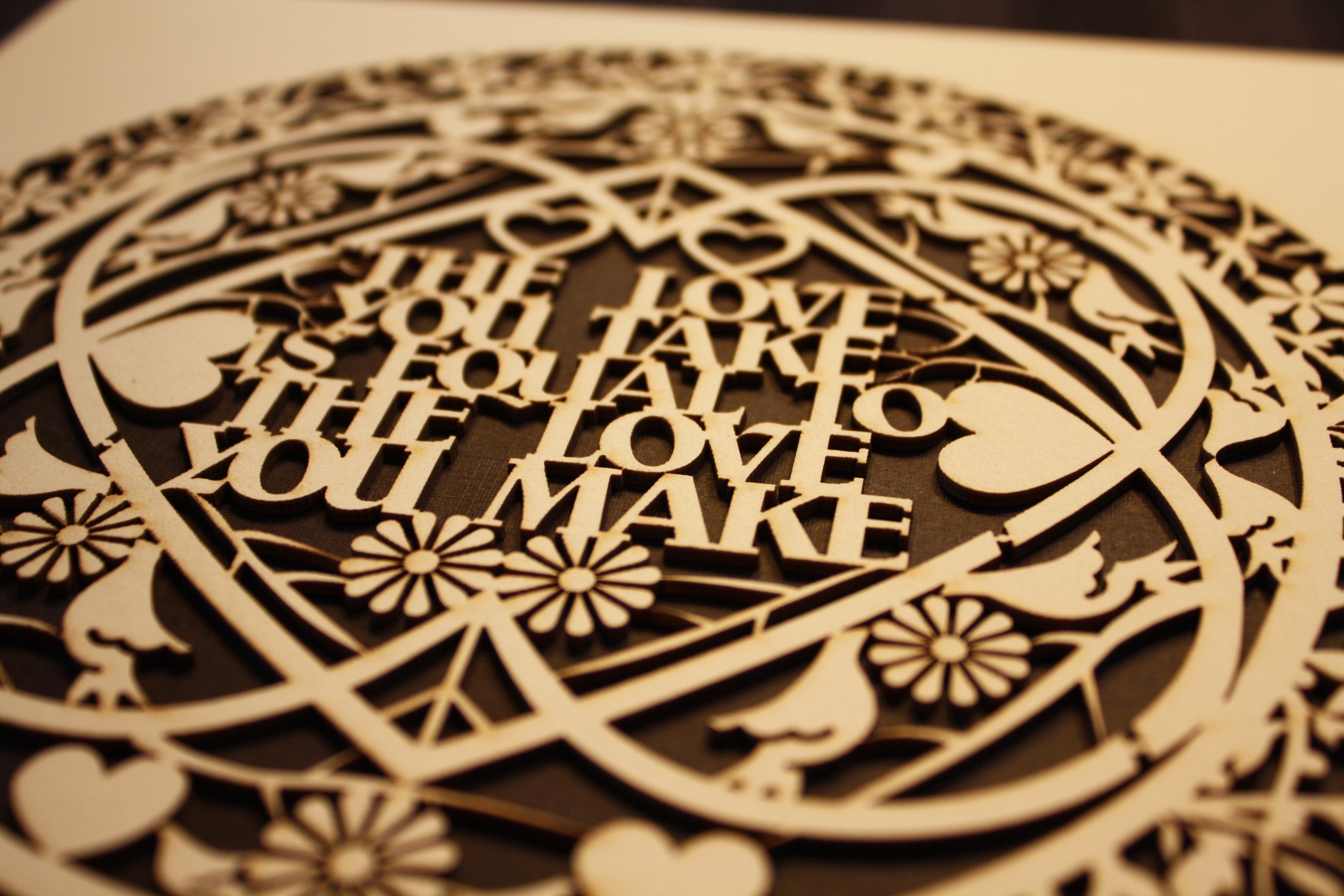 """The Love You Take"""